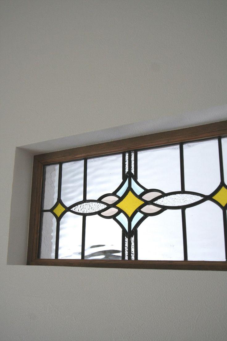 ステンドグラス/小窓/アンティーク/インテリア/注文住宅/ジャストの家/stendglass/natural/design/interior/house/homedecor