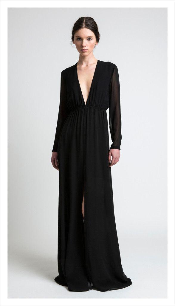 emma gown, silk georgette | juliette hogan