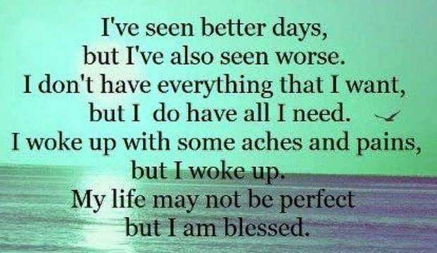 Thank You, Lord, For Your Many Blessings.