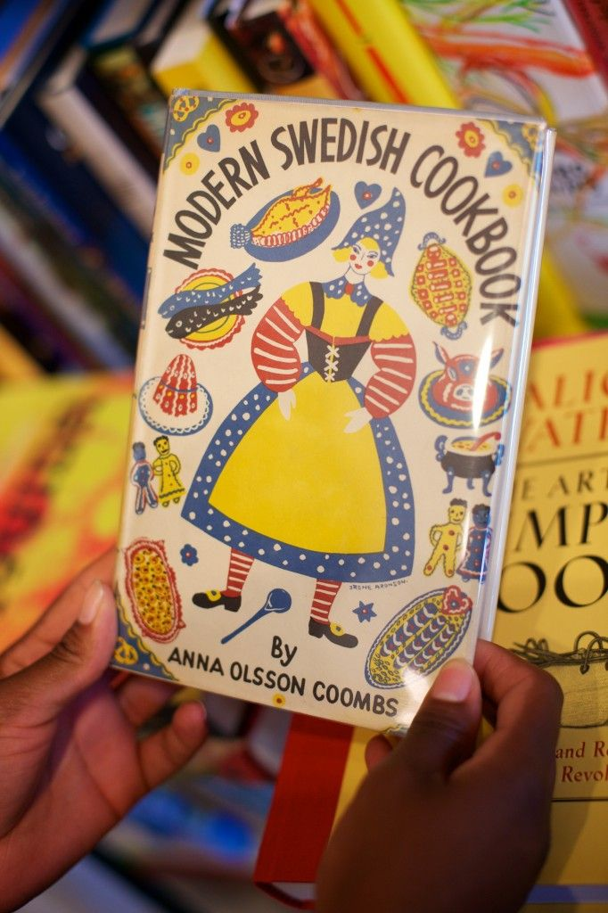 "My copy of ""Modern Swedish Cookbook"" by Anna Olsson Coombs #Swedish #American #Food #History"