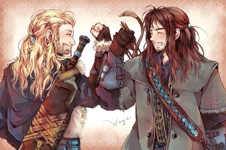Fili and Kili from movie #Hobbit. Wonder, if they picked cutest actors for roles that are gonna die on purpose...