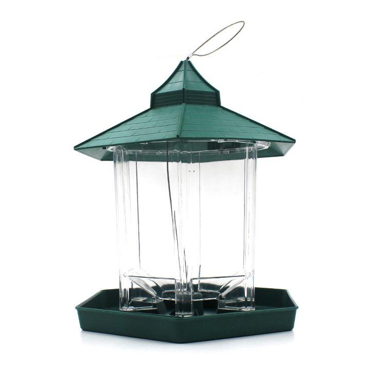 Europese stijl wilde vogel feeder Outdoor vogel feeders voedsel container Opknoping Tuinhuisje Vogel Feeder Perfect voor Tuin Decoratie