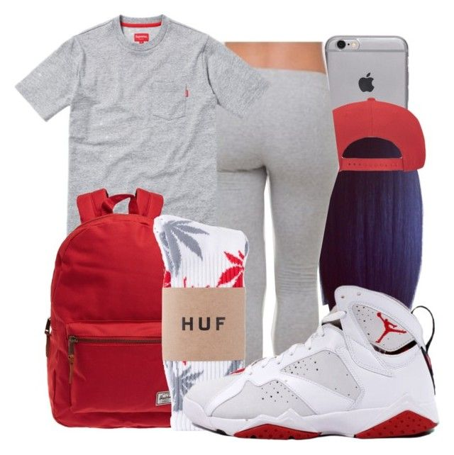 """Shandell"" by honey-cocaine1972 ❤ liked on Polyvore featuring moda e Herschel"