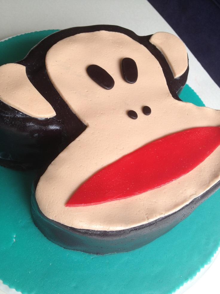 "Paul frank cake by ""Erase una vez"""