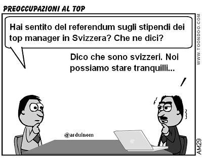 Cosa insegna il referendum svizzero sulla retribuzione dei top manager - Leggi il post http://www.tibicon.net/2013/03/cosa-insegna-il-referendum-svizzero-sulle-retribuzioni-dei-top-manager.html