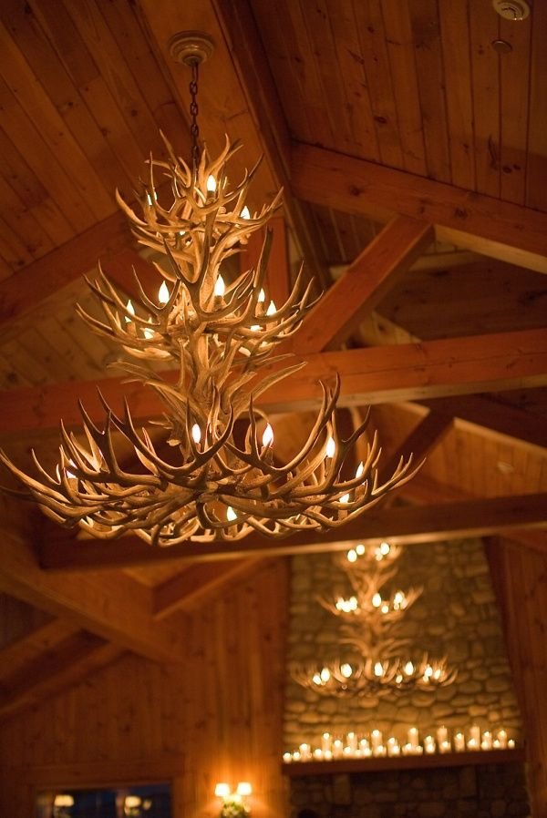 Just from the photo, I'm almost 100% certain this chandelier was made by Antler Art, Inc. formerly operated out of Grand Junction, CO (where I live) and by the Pritchard family (part of my family). This very well could have been made by my husband.