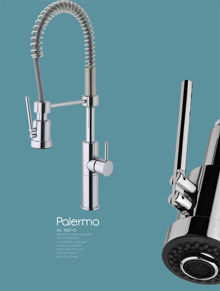 PALERMO - CROMO  miscelatore sottopensile