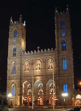 Notre Dame Basilica - Old Montreal