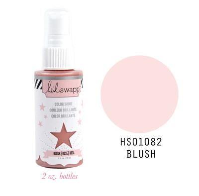 Pink Paislee Heidi Swapp Heidi Swapp Colour Shine Spritz Blush 2oz