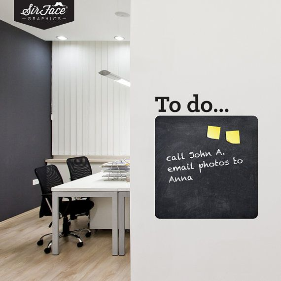 Best Write And Erase Chalkboard Wall Stickers Images On - Wall decals you can write on