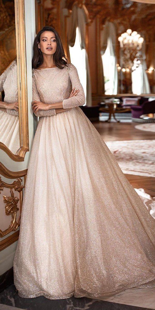 30 Cute Modest Wedding Dresses To Inspire Modest Wedding Dresses