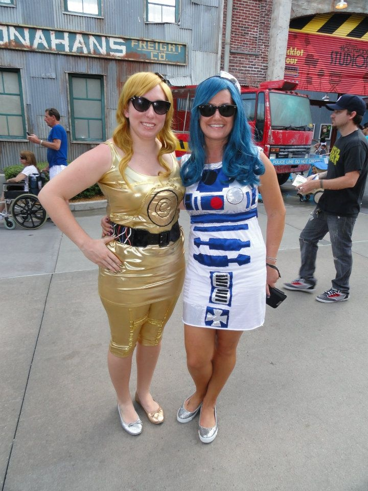 C3PO and R2D2 dresses  sc 1 st  Pinterest & 103 best cosplay and cons images on Pinterest | Costume ideas ...