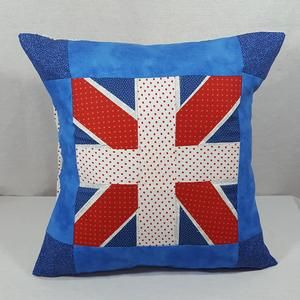 Our fun inspired UK Flag Union Jack Cushion Cover is a unique gift idea for any UK friends who likes Union Jack Decor or if you're the British person who loves the Union Jack Flag.   Perfect for housewarming or any occasion, design features the iconic United Kingdom Flag, the Union Jack, is appliqued onto this cushion cover.