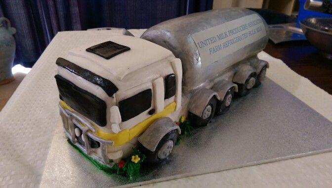 Milk Tanker Cake