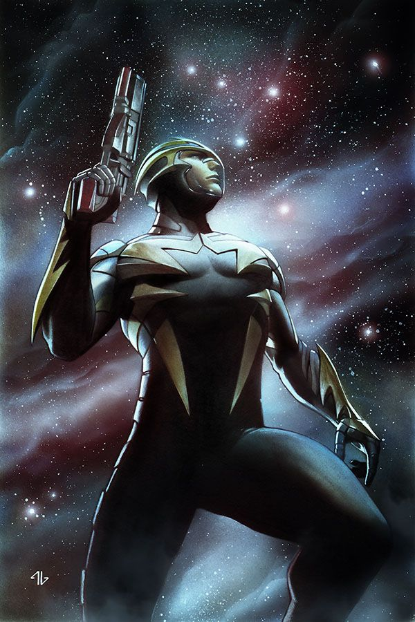 Guardians of the Galaxy #4 Cover by Adi Granov