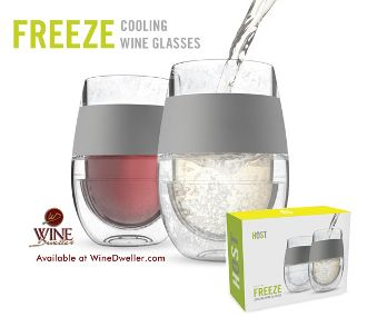 Amazing- I really need this. I love my white wine to be super cold!!!!! HOST Freeze Cooling Wine Glass
