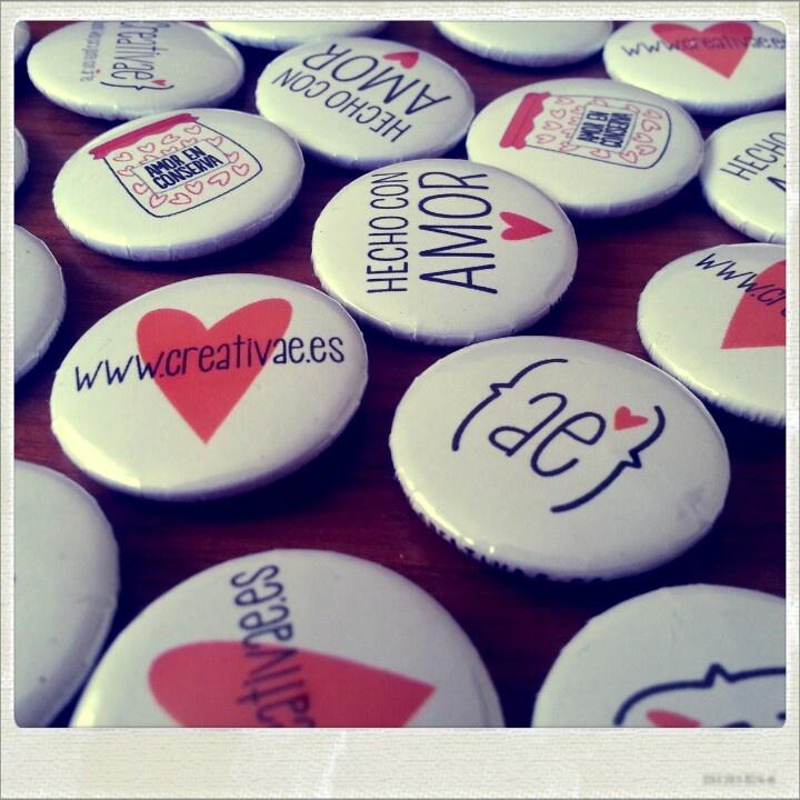 www.creativae.es #pin #badges