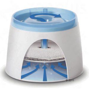 Catit Design Fresh & Clear drinkfontein 2 l 17,90 + handig om er meteen vervangfilters bij te kopen, 3 stuks voor 4,99