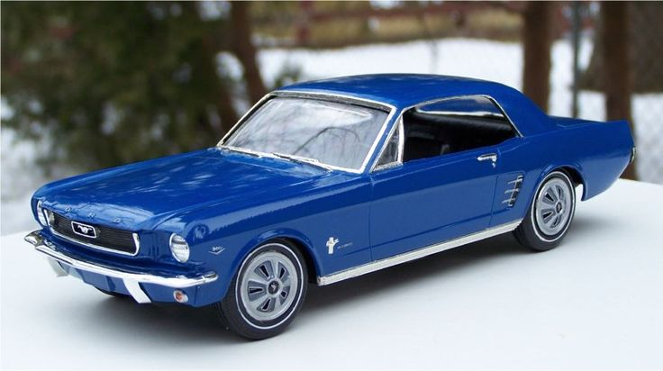 Amt 1966 Ford Mustang 289ci Small Scale Plastic Model Cars 1966 Ford Mustang