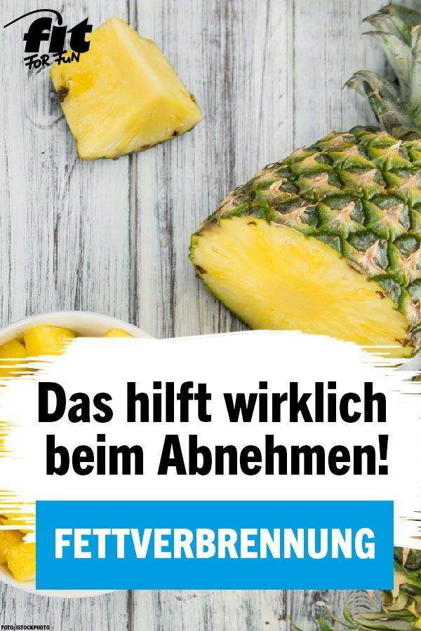 Leinsamen und Ananas zur Gewichtsreduktion