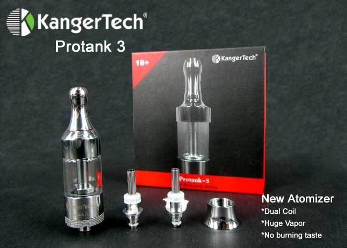 Kanger Protank V3.0 Single Genuine Set  Protank V3.0 and Protank Mini V3.0 are different that Kanger Protank V1 and V2. Protank V3 series tank are glue free and design as full disassemblable hence it is not compatible with V2 Series