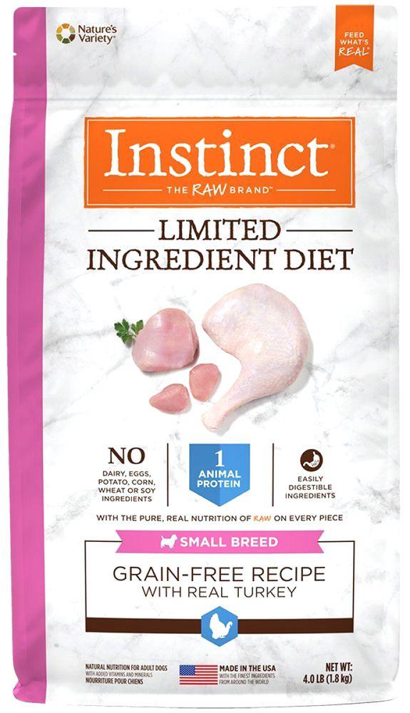 4 Lb Natures Variety Instinct Dog Food Diet Dog Food Grain Free