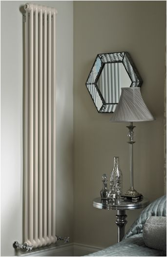 AESTUS Old School Column - Tall skinny cast iron vintage style radiator. Height 850cm.