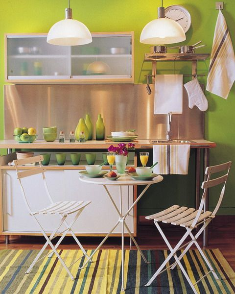http://www.shelterness.com/10-ideas-to-use-small-folding-tables-on-a-kitchen/