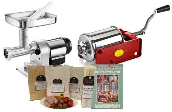 TRE SPADE // DELUXE HOME TRE SPADE SAUSAGE MAKING KIT - $945.00