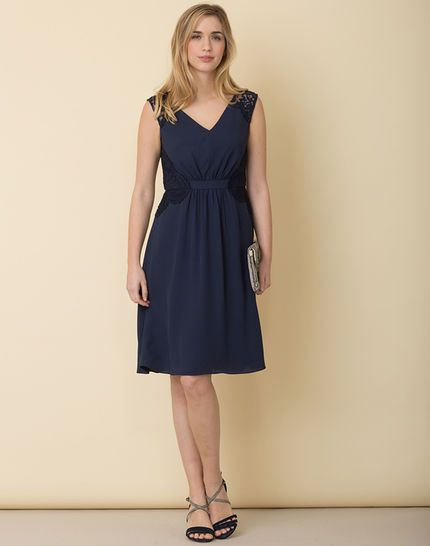 17 best ideas about robe dentelle bleu marine on pinterest for Mariage de robe marine asos