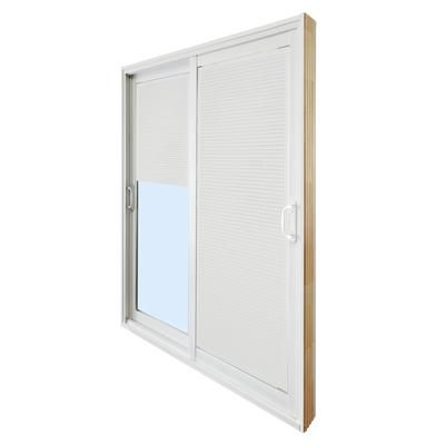Stanley doors double sliding patio door internal mini for Home depot exterior doors canada