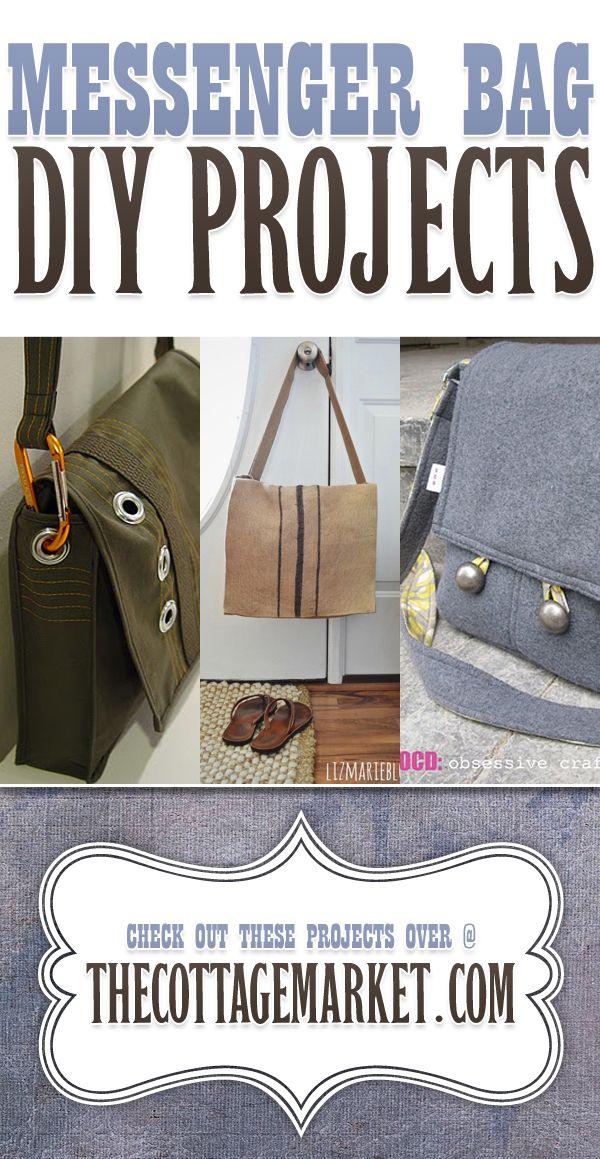 Messenger Bag DIY Projects