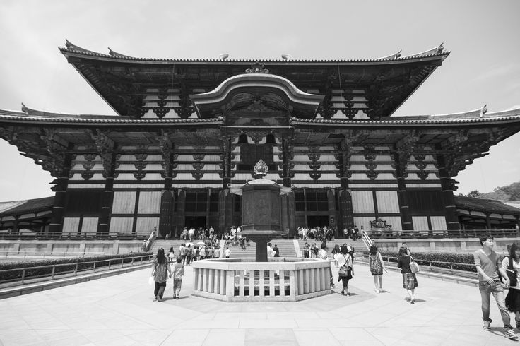 "https://flic.kr/p/CMaqqa | Todaiji 東大寺 - Nara, Japan |    Todaiji (東大寺, Tōdaiji, ""Great Eastern Temple"") is one of Japan's most famous and historically significant temples and a landmark of Nara. The temple was constructed in 752 as the head temple of all provincial Buddhist temples of Japan and grew so powerful that the capital was moved from Nara to Nagaoka in 784 in order to lower the temple's influence on government affairs.    Todaiji's main hall, the Daibutsuden (Big Buddha H..."