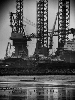 rachelminshull: 'Industrial action' Esbjerg, Denmark