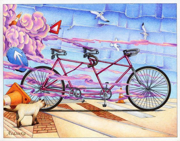 Марафон Вокруг света на велосипеде
