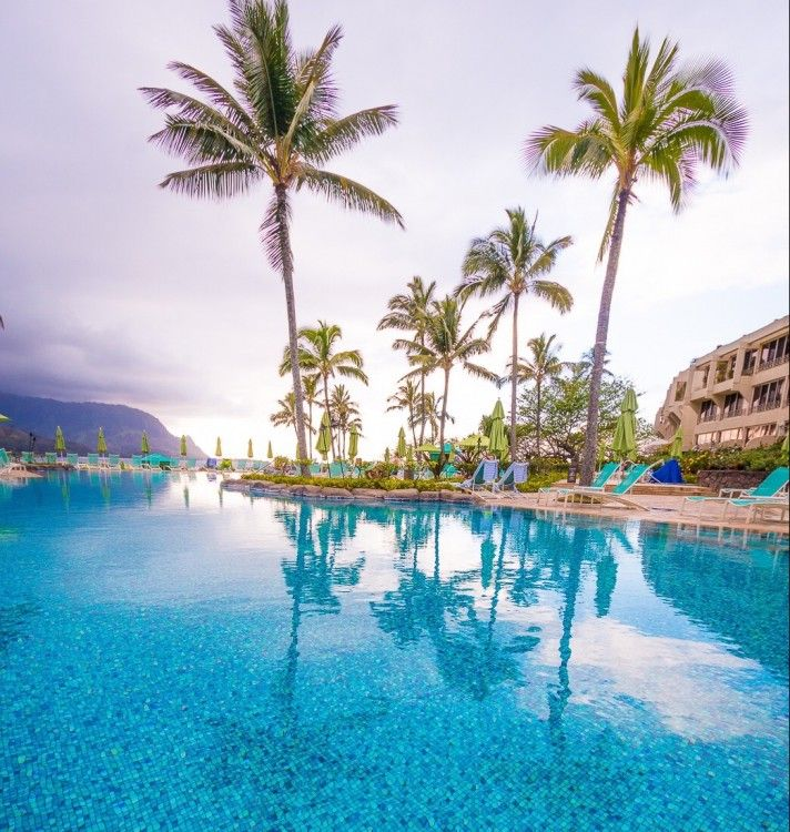 St. Regis Princeville hotel in Kauai