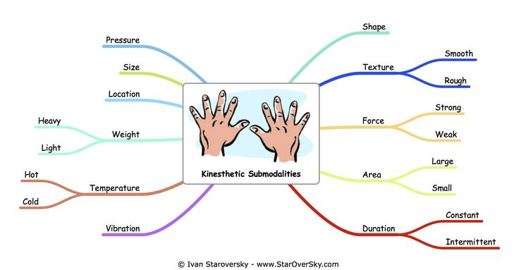 Kinesthetic Submodalities-possible mindfulness application(pumpkin)