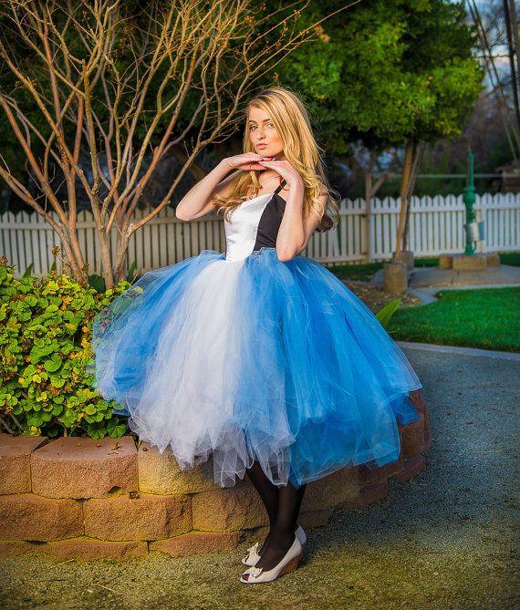 Alice in wonderland adult tutu dress  adult tutu dress by TutuHot
