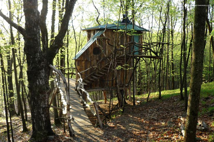 treehouses new england