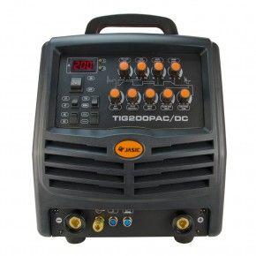 TIG lasapparaat Jasic TIG200P AC/DC frontpaneel