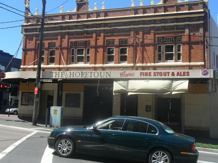 Hopetoun Hotel, Surry Hills, Sydney, Australia - If you were lucky to be around when this pub was pumping back in the day you lived through an iconic moment of rock n roll and music history in Sydney. So many musical legends that passed through these doors or played romantic, intimate gigs here - Paul Kelly, Tex Perkins etc etc - the list goes on and on. A well missed iconic Sydney landmark with many, many amazing memories xxx