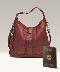 How cool! #Gucci's new #eco Jackie bag comes with its own passport of eco-authenticity