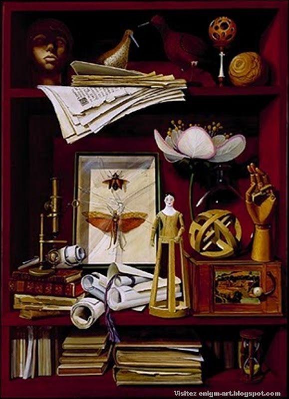 http://enigm-art.blogspot.com/2010/07/cabinets-dans-la-peinture.html
