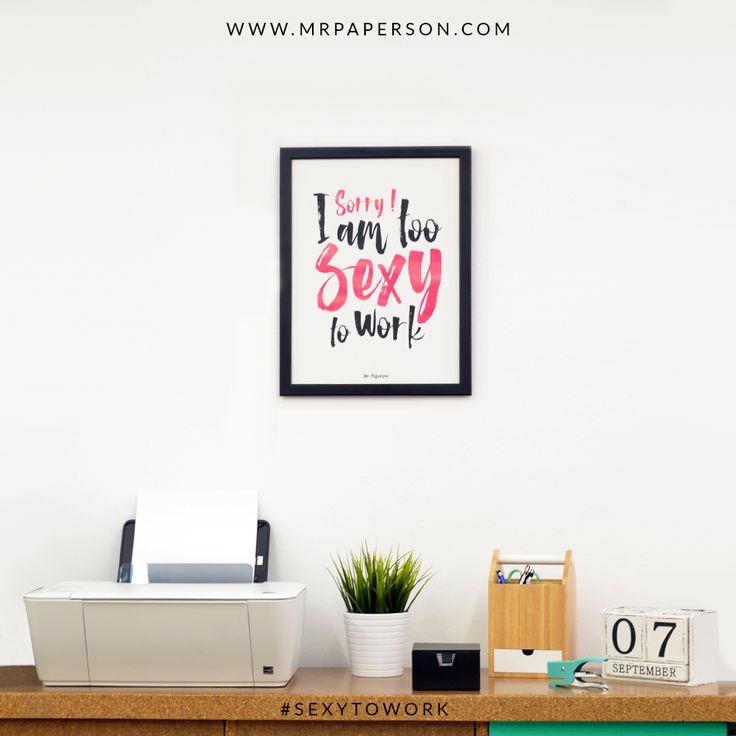 """""""Elige un trabajo que te guste y no tendrás que trabajar ni un día de tu vida."""" Confucio  #mrpaperson #sexytowork #happiness #homedecor #decor #decoracion #decoracionpared #walldeco #inspiration #nordicstyle #interiordesign #poster #print #office #decoracionoficinas #workspace #limitededition #design"""