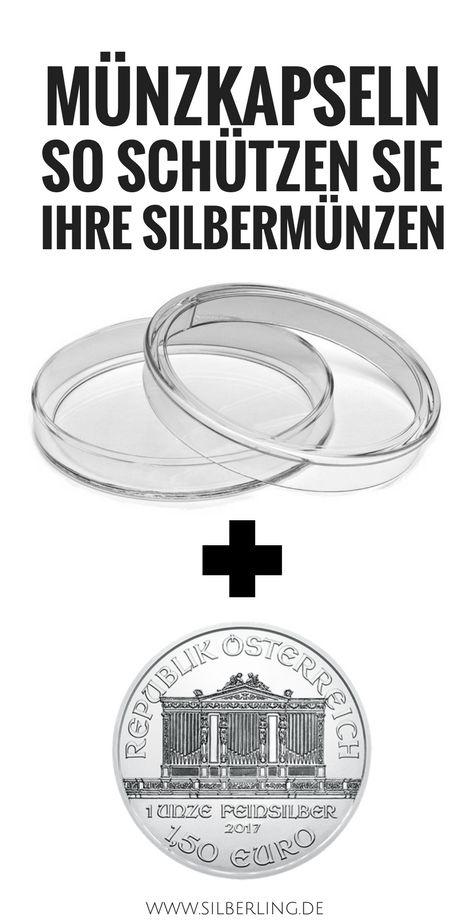 Münzkapseln kaufen - schützen Sie ihre Silbermünzen davor anzulaufen und zu oxidieren. Kratzfeste Münzkapseln und Münztubes sind die Lösung. Auch masterboxen für Silbermünzen helfen. Hier klicken für mehr Informationen