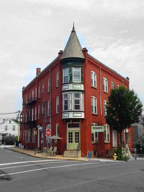 Building of Betty's Restaurant in #Kutztown #Pennsylvania