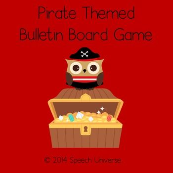 "This is a set of graphics that you can use to create a bulletin board game.  I used this game in place of an incentive chart for my homework folders.Each student has a ""ship"" that will sail to the treasure chest.  Each time students turn in their homework, they get to roll the dice and then move their ship the indicated number of spaces."