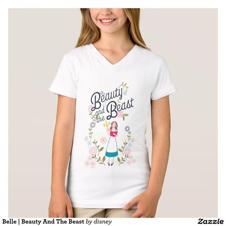 Belle | Beauty And The Beast T-Shirt. Producto disponible en tienda Zazzle. Vestuario, moda. Product available in Zazzle store. Fashion wardrobe. Regalos, Gifts. Trendy tshirt. #camiseta #tshirt