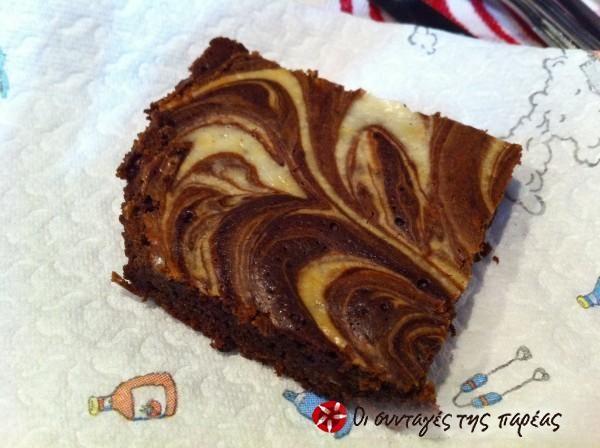 Cheesecake brownies #sintagespareas