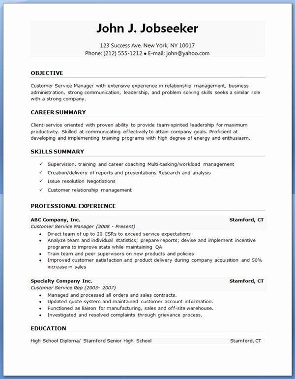 25 Simple Resume Template Download In 2020 Free Resume